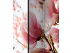 Paraván - Pink magnolia [Room Dividers]